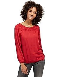TOM TAILOR für Frauen Shirt / Blouse schlichte Carmen-Bluse