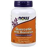 Quercetin & bromelain - 120 gelules vegetales - Now foods