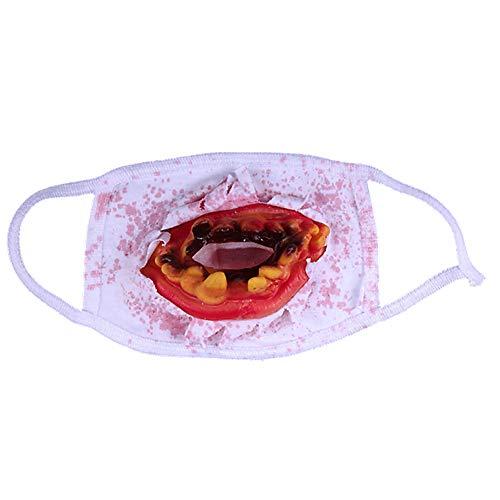 Lovinda Accesorios de Horror Truco de Halloween Máscara de Prótesis Dental Horror Prop Delicado x 1 Pieza