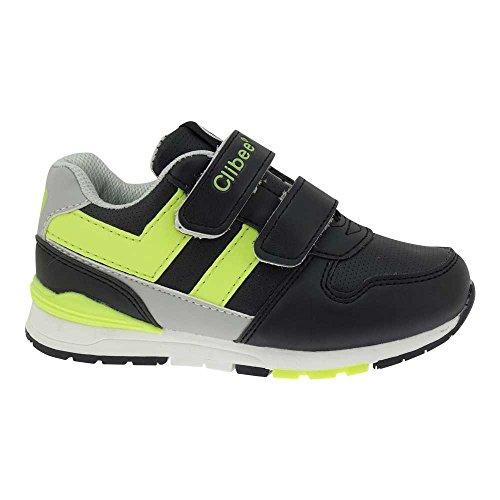 GALLUX - Kinder Sneaker Schuhe in coolen Farben Schwarz