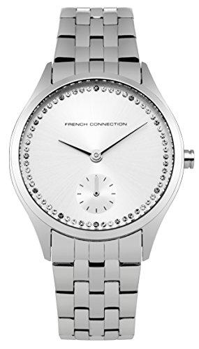 french-connection-orologio-da-polso-analogico-donna-acciaio-inox-argento