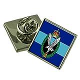 Ejército del Aire Inglaterra militar Bandera Insignia de solapa cuadro grabado