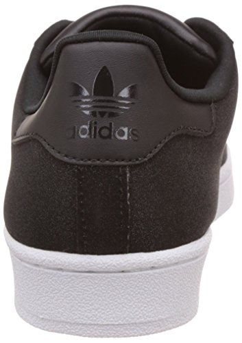 adidas Superstar, Scarpe da Ginnastica Donna cblack-cblack-ftwwht