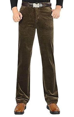Pantalon en velours côtelé décontracté