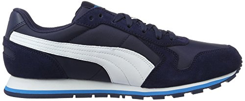 Puma St Runner NL, Sneakers Basses Mixte Adulte, 41 EU Bleu (Peacoat-puma White 36)