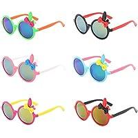 Toyvian 6 Piezas Gafas de Sol con Oreja de Conejo Juguete Disfraz de Pascua para Niños