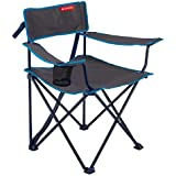 QUECHUA FOLDING CAMPING/HIKING CHAIR - GREY