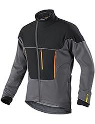 Mavic Ksyrium Pro Chaqueta Térmica de ciclismo para invierno gris/negro 2016, color gris, tamaño medium