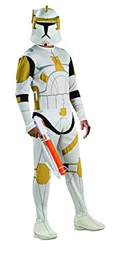 Star Wars Kostüm Cody Commander (Rubies Deutschland 3 888806 STD - Clonetrooper Commander Cody Größe)