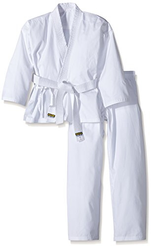 Kwon, Completo da Karate Bambino Renshu, Bianco (Weiß), 140 cm