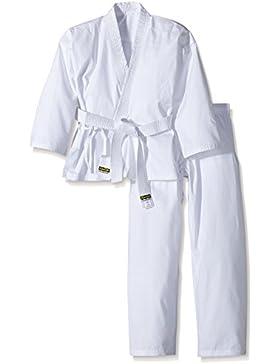 KWON Karategui Karateanzug Renshu - Falda-pantalón (trajes), color blanco, talla DE: 140