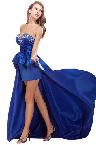 Sunvary nuovo arrivo Hilo, stile Sweetheart vestito da sera Royal Blue