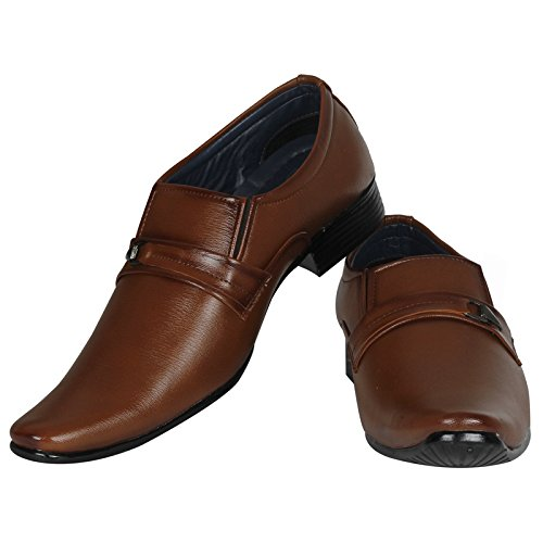 eef209b69501 55% OFF on Emosis Men s Stylish Tan Brown Black Colour Formal Moccasin  Slip-On Shoe on Amazon
