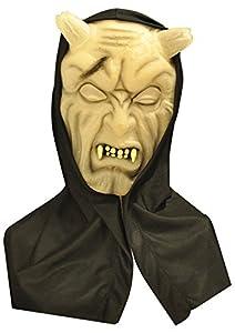 Ciao 68191-Máscara Horror Glow in the Dark con capucha, modelos surtidos