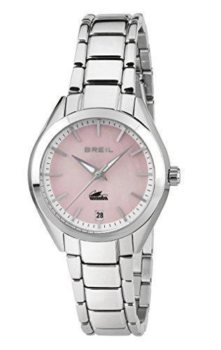 Breil Reloj Analógico para Mujer de Cuarzo con Correa en Acero Inoxidable TW1685