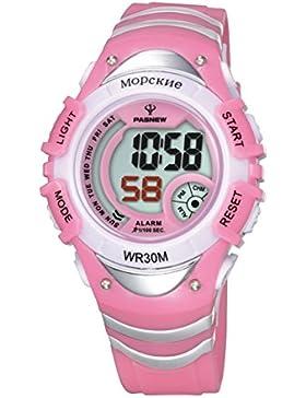 Electronic watch outdoor sport running kinder wasserdicht-D