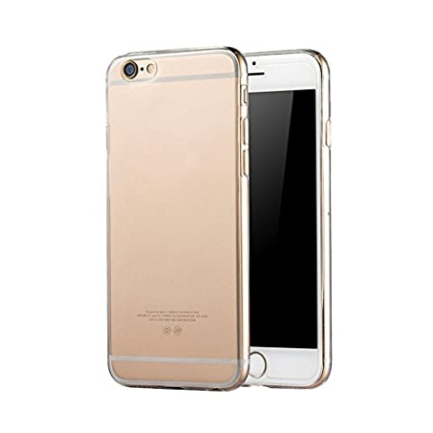 XFAYiPhone 6/6S Coque,coque iPhone 6 / 6s, Cover Case, Soft Housse Etui TPU Silicone,coque silicone gel intégral iphone 6 / 6s transparent pour telephon iPhone 6/6S-HX®-416