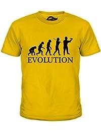 991520790d87 Candymix Bauarbeiter Evolution des Menschen Unisex Jungen Mädchen T Shirt