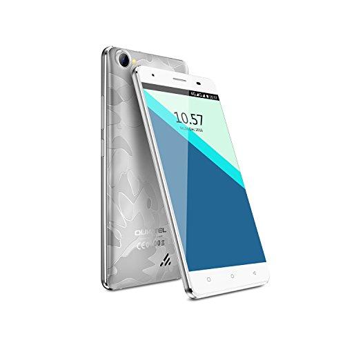 OUKITEL C5 Pro - Smartphone 4G 5.0''HD (FDD-LTE, Android6.0, 5.0MP+2.0MP doppia fotocamera,...