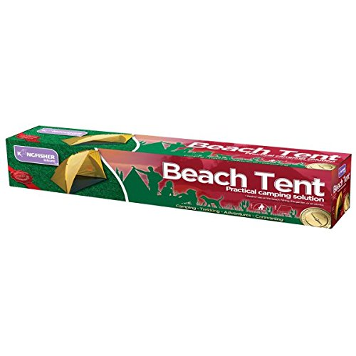 41SgNDT63zL. SS500  - King Fisher OL100 Beach and Fishing Tent Shelter - Multi-Colour, NA