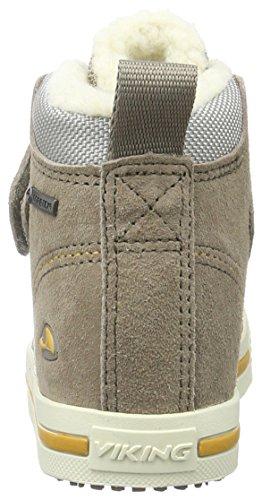 Viking Lovvund Warm, Chaussures Bateau Mixte Enfant Beige - Beige (Taupe/Sand 90)