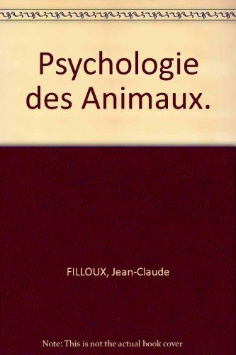 Psychologie des Animaux.