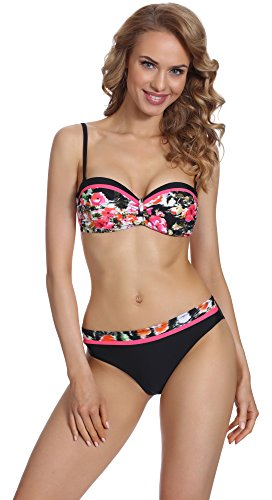 Merry Style Damen Push Up Bikini Set P509-53MIA Muster-3