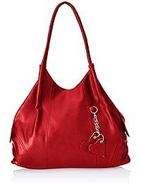 Fostelo Women's Style Diva Shoulder Bag (Red) (FSB-393)