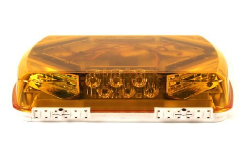 Whelen Engineering Jahrhundert Serie super-led Mini Lightbar, 27,9cm magnetaufhängung–Bernstein