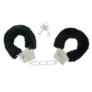 Alsino Plüsch - Handschellen Plüschhandschellen Variante, wählen:schwarz