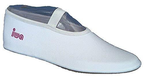 IWA 250 Trampolin Schuhe Gymnastikschuhe Turnschläppchen: Größe: 41 | Farbe: schwarz
