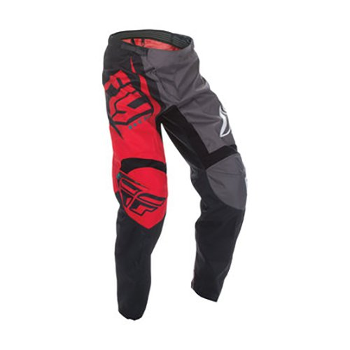 Fly Racing Fly 2017F-16adulto–Pantalones para hombre, color rojo/negro, tamaño talla 30