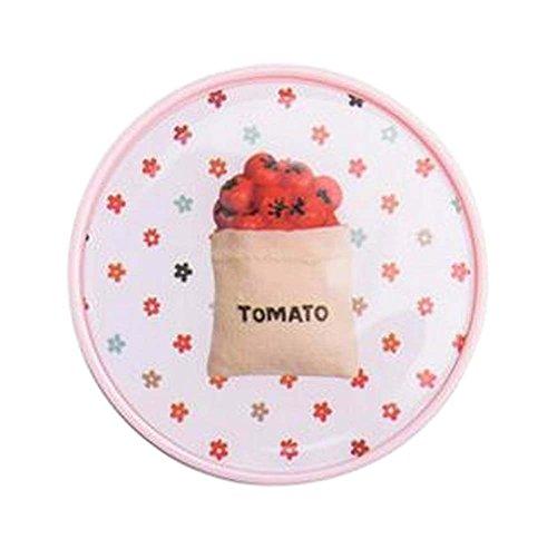 Stilvolle runde Kontaktlinsen-Kasten-Speicher-Halter-Tomate