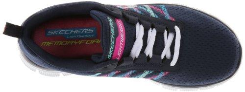 nvmt Sneakers Algo Divertido Blau Damen Apelar Flexionar Skechers wIqA4R0