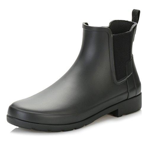 Hunter Original Raffiné Mesdames Boot De Chelsea Noir