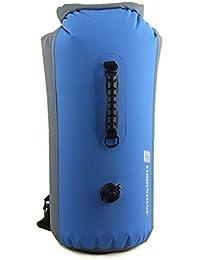 luckystone exterior 25L 35L 60L Bolsa seca Saco flotante impermeable bolsa seca para barcos, Rafting, Natación, kayak, Pesca, Camping, Piragüismo, color Azul - azul, tamaño 60L