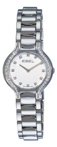 Ebel Beluga Mini Stainless Steel & Diamond Womens Luxury Swiss Watch 9003N18/691050