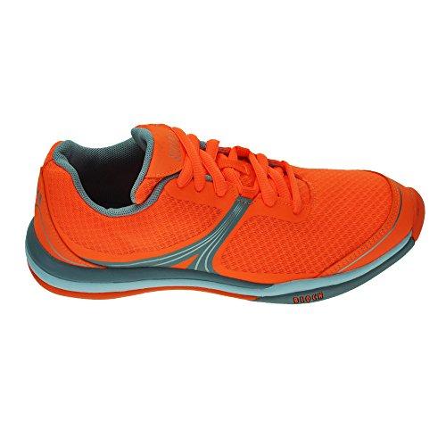 Bloch New 925 Element Danse Sneaker Orange