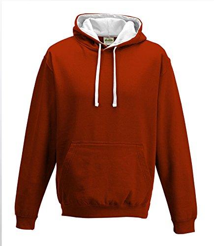 Just HoodsHerren Kapuzenpullover Rot - Fire Red
