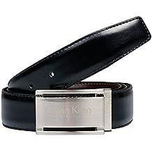Cinturón Calvin Klein Collection Hombre Negro Única