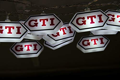 BRISA VW Collection VW Golf GTI Logo Lichterkette 3m, 20 x LED- Auto Zubehör, Accessories, Original