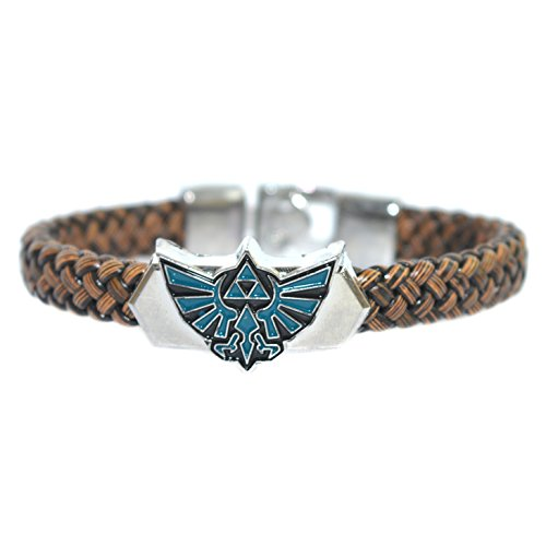 Legend of Zelda Leather Weave Bracelet - Accesorios