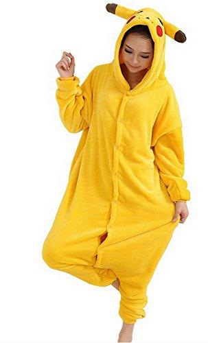 Kostüm Hot Pikachu - Heißes Unisex-Kostüm für Karneval und Halloween, Cosplay Zoo, Einheitsgröße gelb Pikachu X-Large