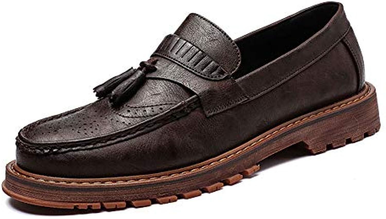 Xiaojuan-scarpe, Oxford Business Business Business casual da uomo New British Retro Low Top intagliate scarpe con bretelle nappate... | Costi Moderati  b10ffd