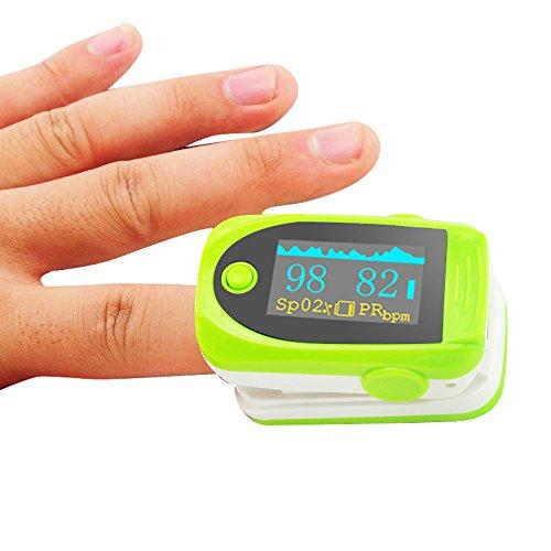 Carejoy OLED oxímetro pulso dedo pulsioxímetro portátil
