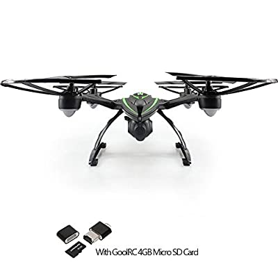 GoolRC JXD 509G 510G Drone with Live Video Camera HD 2MP RC Quadcopter Remote with Screen by Goolrc