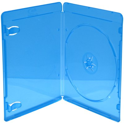 viva-elite-blu-ray-1-lot-de-50-pochettes-disque-slim-6-mm-bleu
