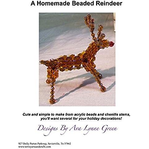 Beaded Reindeer (English