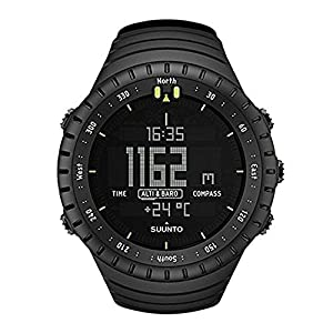 Suunto Core All - Outdoor watch for all altitudes, submersible (30 m), with altimeter and barometer, composite dial, deep black