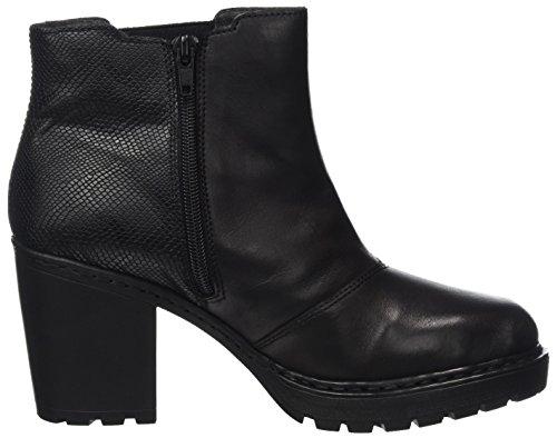 Rieker Ladies Y7060 Chelsea Boots Nero (nero / Nero)